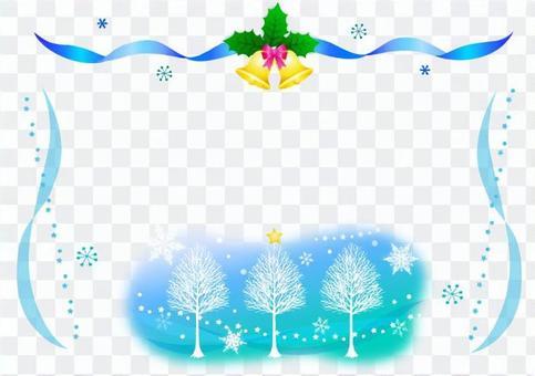 冬天的框架