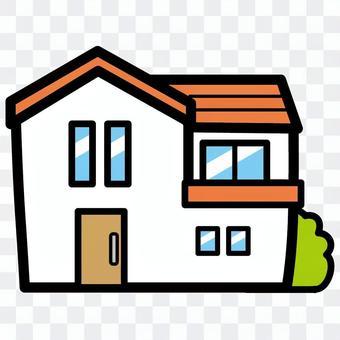 卓越的住房新建的房產