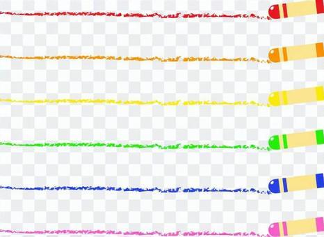 Crayon line _ simple