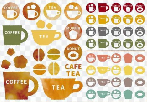 咖啡廳圖標