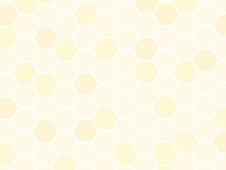 蜂窩蜂箱背景黃色