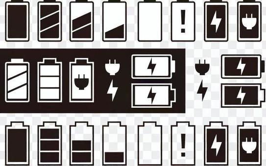 充電標記圖標