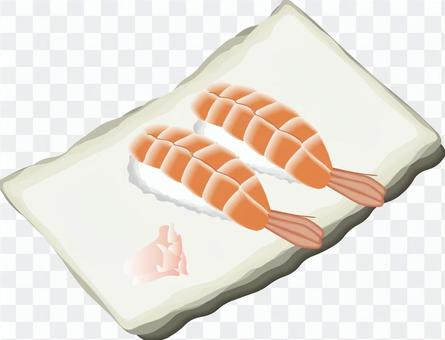 寿司 寿司屋 海老 蒸し海老 生
