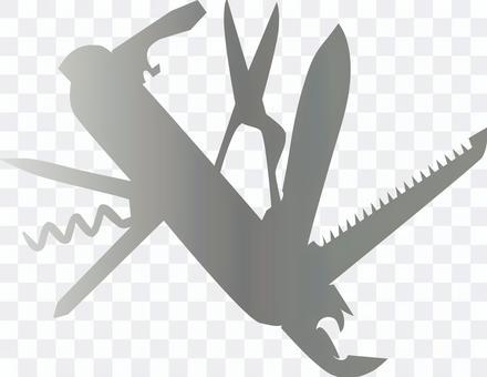十徳ナイフ   アーミーナイフ
