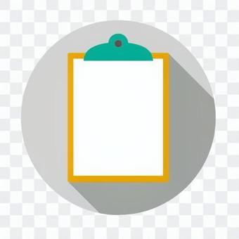 平板圖標 - 剪貼板