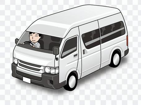 穿梭巴士插圖
