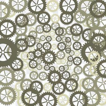齒輪機械模式嚙合發明背景