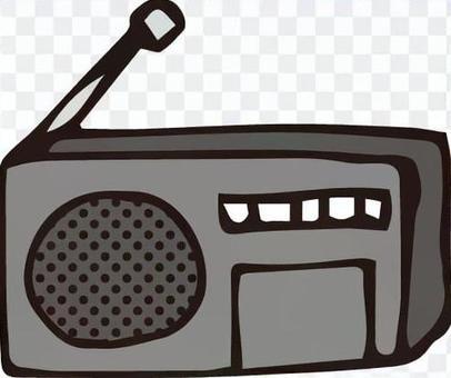 家用電器(小型收音機)