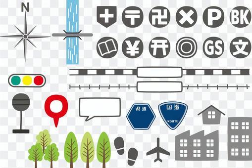地圖材料5 /類型g / uta