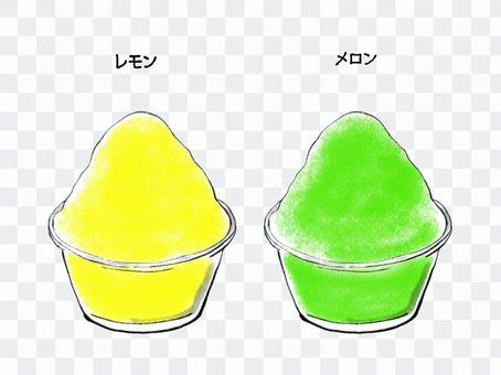 刨冰簡單手繪2