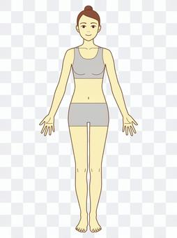Whole body _ no acupoints