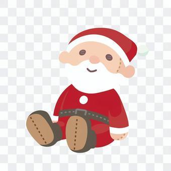 被充塞的玩偶圣诞老人