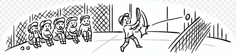 輕鬆手繪的14網球俱樂部體驗遊