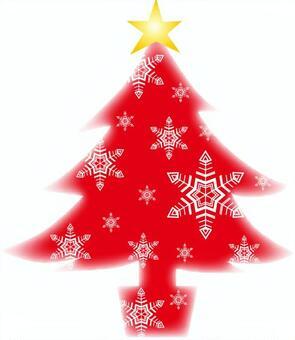 紅色聖誕樹