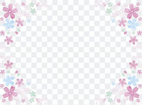 花框架櫻桃多彩1