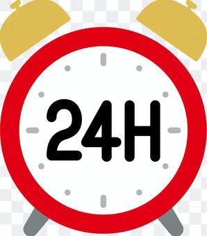 Clock 24 hours