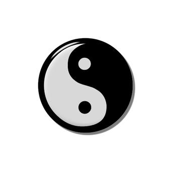 Yin can badge