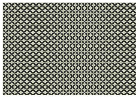 花形瓷磚(黑色)