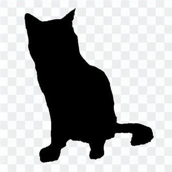 剪影1貓2
