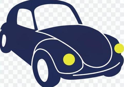 【要求】藍色車