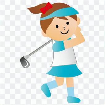 高爾夫球員(女子)