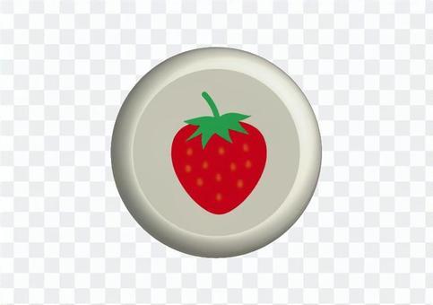 草莓的按鈕