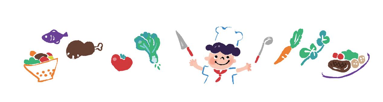 【食物入口】儿童厨房