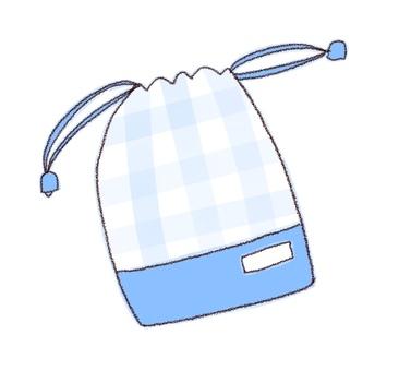 Drawstring purse 3 (color)
