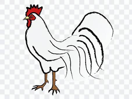 Japanese style white chicken