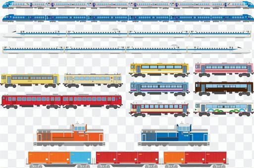 電車汽車セット
