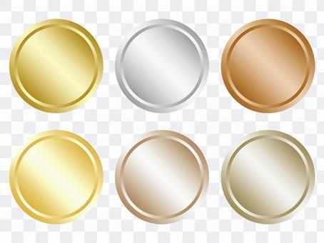 圓形金屬框