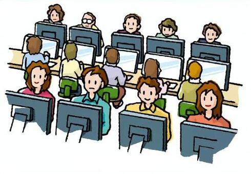 電腦與大家一起!