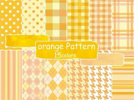 背景模式橙色模式壁紙秋季可愛模式
