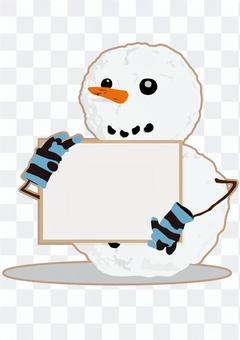 雪人·標誌