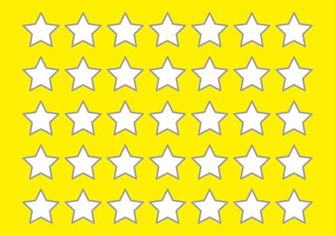 4 일러스트 (칸 · 별 · 노란색)