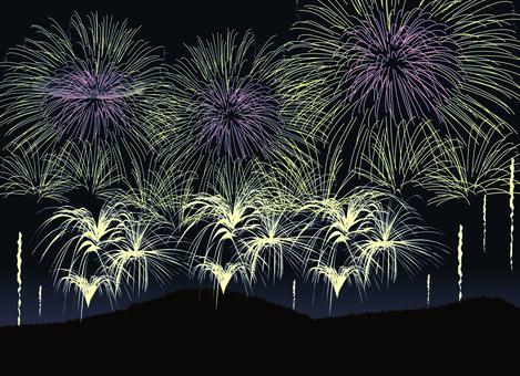 Fireworks launch tournament event summer