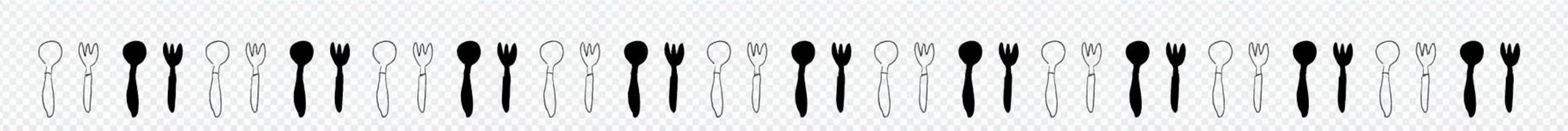 Knife fork line