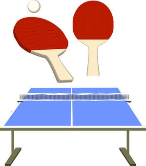 乒乓球拍球架比賽工具