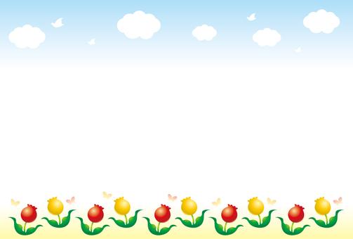 Tulip frame 2