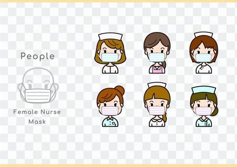 女護士口罩