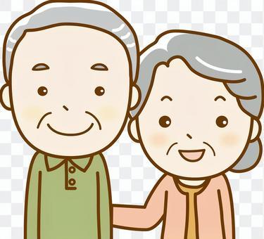 Senior 2 people 03 up