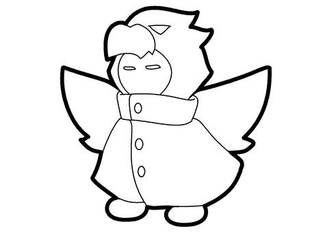 無色 Ubume Bird Costume Ghost