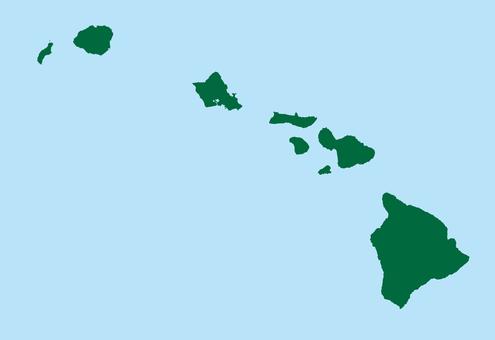夏威夷_地圖