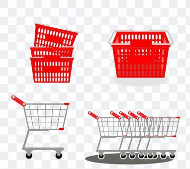 쇼핑 카트, 쇼핑 카트, 쇼핑