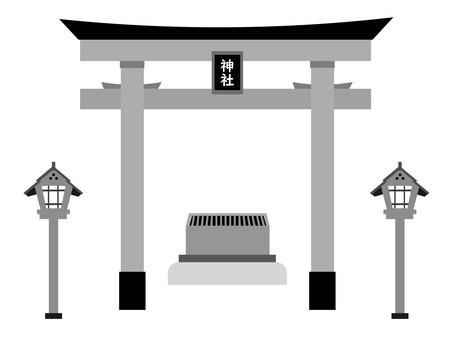 神社的牌坊 / 彩仙盒圖 2