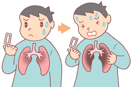 肺炎的初期症狀和加重