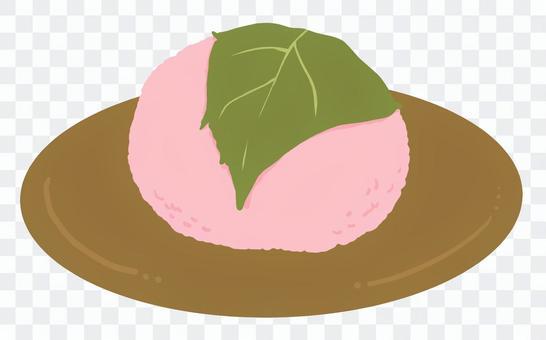桜餅(おぼん)
