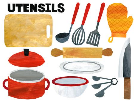 Material for kitchen utensils 1