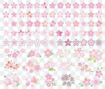 櫻花圖標集合02