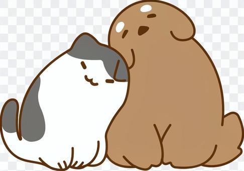 朋友和愛情愛狗和貓貓
